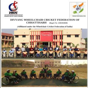 Divyang Wheelchair Cricket Federation of Chhattisgarh