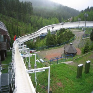 Altenberg bobsleigh, luge, and skeleton track