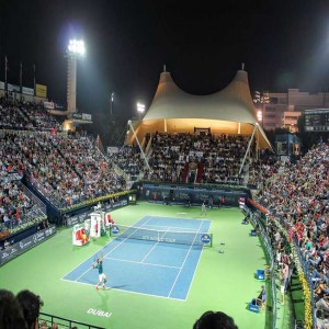 Dubai Tennis Stadium