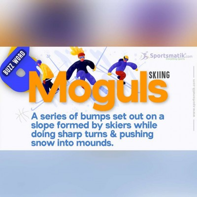 moguls in skiing