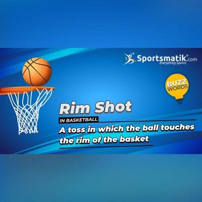 Rim shot in basketball