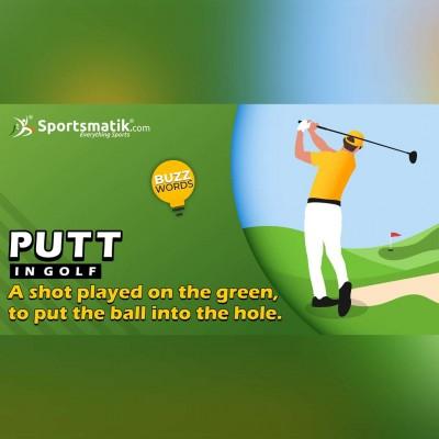 putt in golf