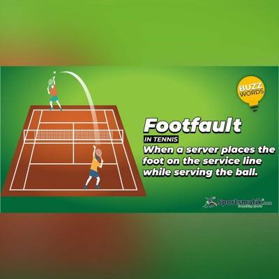 footfault in tennis