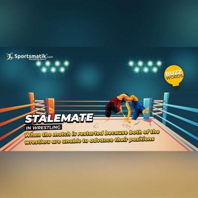 Stalemate in wrestling