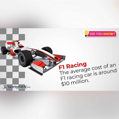 formula one facts