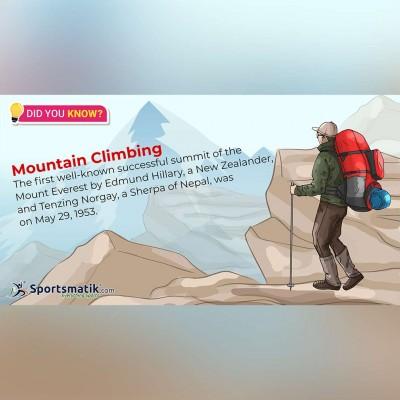 mountain climbing fun facts