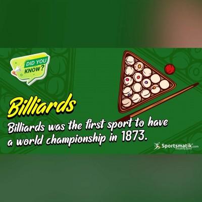 billiards fun facts