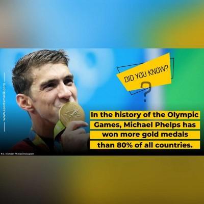 Michael Phelps fun fact