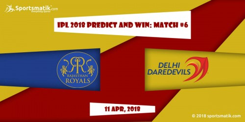 IPL 2018 Predict and Win: Match #6