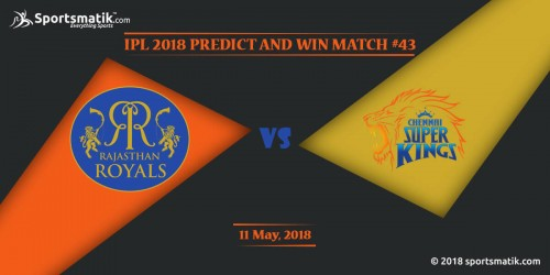IPL 2018 Predict and Win: Match #43