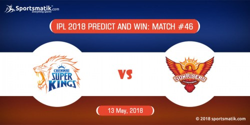 IPL 2018 Predict and Win: Match #46