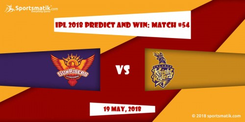 IPL 2018 Predict and Win: Match #54