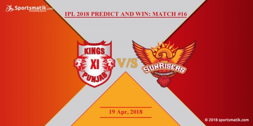 IPL 2018 Predict and Win: Match #16