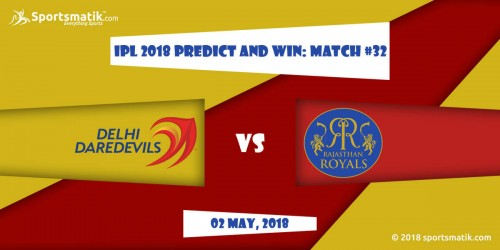 IPL 2018 Predict and Win: Match #32