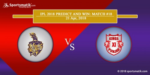 IPL 2018 Predict and Win: Match #18