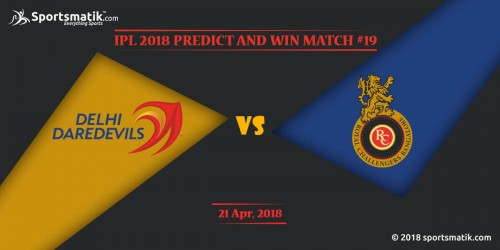 IPL 2018 Predict and Win: Match #19