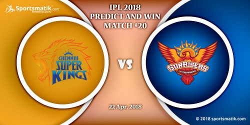 IPL 2018 Predict and Win: Match #20