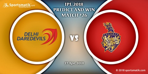 IPL 2018 Predict and Win: Match #26