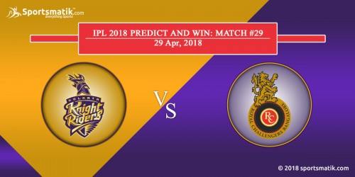 IPL 2018 Predict and Win: Match #29