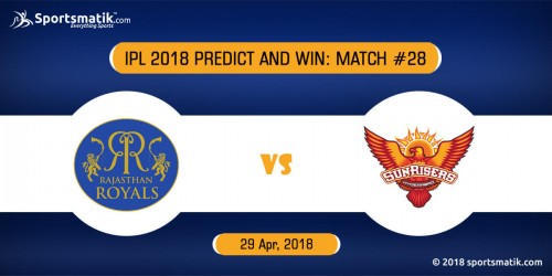 IPL 2018 Predict and Win: Match #28