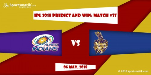 IPL 2018 Predict and Win: Match #37
