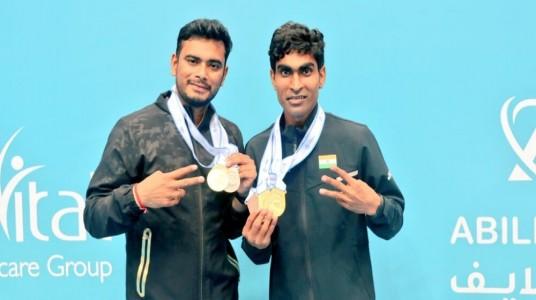 7-member Indian Para Badminton...