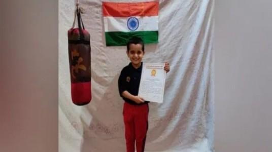05-year-old Arindam Gaur set W...