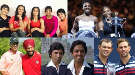 Famous Athletes sharing Sports...