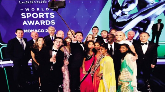 Laureus Sports Awards 2019 : Sports Stars Flashing Spark
