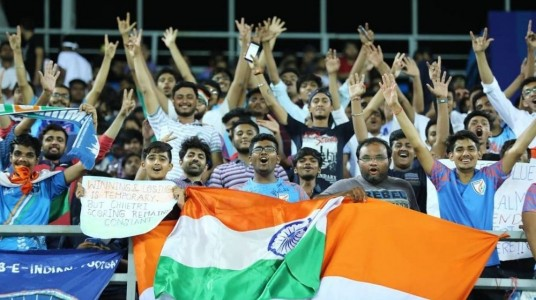 Indian Football Fans picked th...