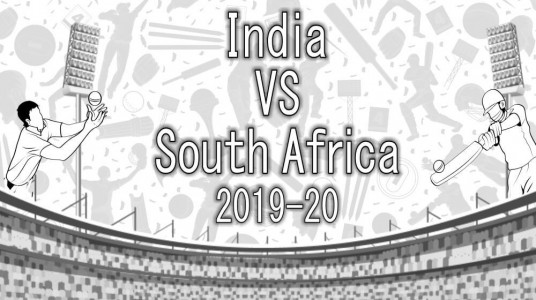 A throwback to India vs South Africa Test Series 2019
