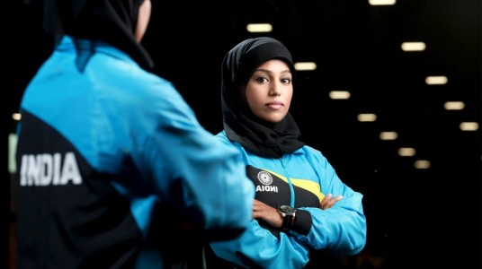 The hijab-clad Powerpuff girl ...