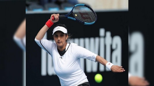 Olympic-bound tennis star Sani...