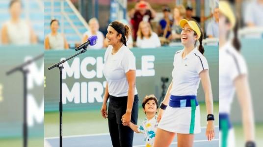 Sania Mirza and Christina McHa...