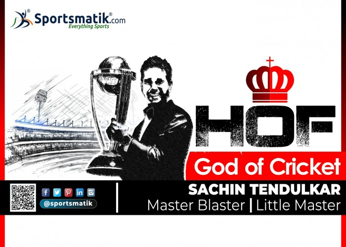 The God of Indian Cricket finally inducted into the ICC Hall of Fame
