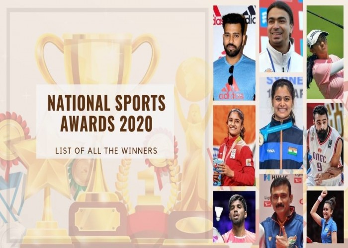 National Sports Awards 2020: List of all the winners