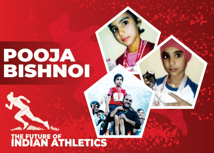 Pooja Bishnoi: The Athletic Angel of India