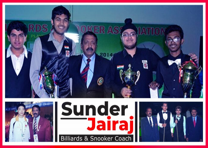 Sunder Jairaj: Nourishing the young talents of billiards