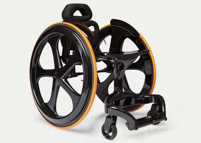 Carbon Fibre Wheelchair