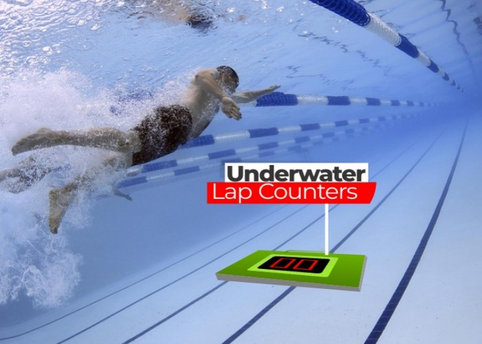 Underwater Lap Counters