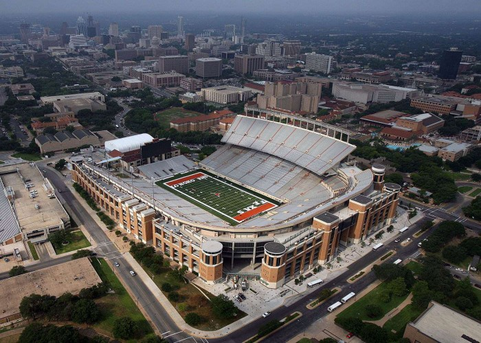 Darrell K Royal Texas Memorial Stadium