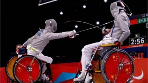 wheelchair fencing paralympics