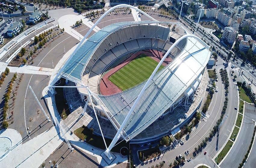 Athens Olympic Stadium : Greece, Athletics, Football, Capacity