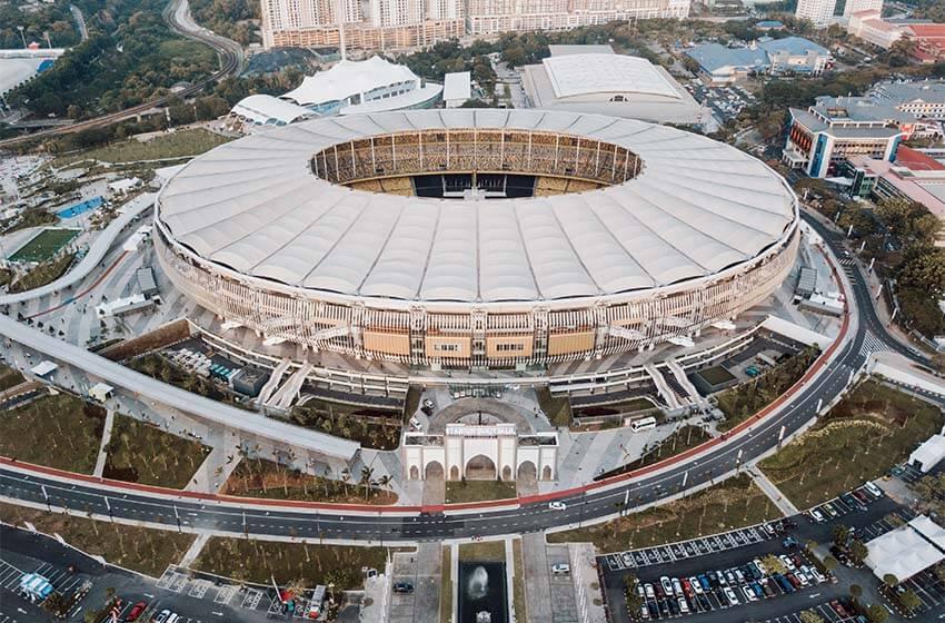 Bukit Jalil National Stadium, Kuala Lumpur, Malaysia   Sports venue
